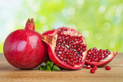 Natürliche Hormontherapie Hormone Granatapfel